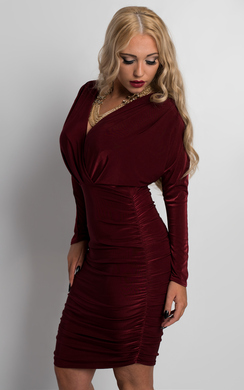 View the Vera Batwing Sleeve Dress online at iKrush
