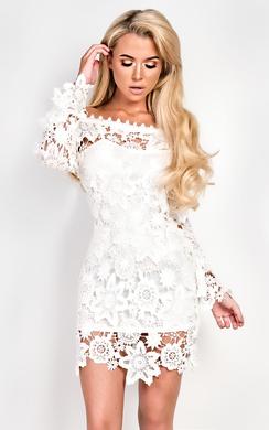 View the Kady Lace Dress online at iKrush