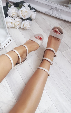 View the Margot Strap Heels online at iKrush
