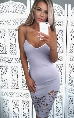 View the Penny Cut Out Bodycon Dress online at iKrush