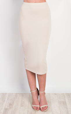 View the Halden Basic Midi Skirt online at iKrush