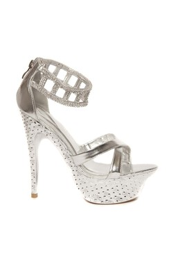 View the Riah Silver High Heels online at iKrush