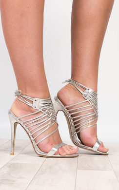 View the Mandy Lace Up High Heels online at iKrush
