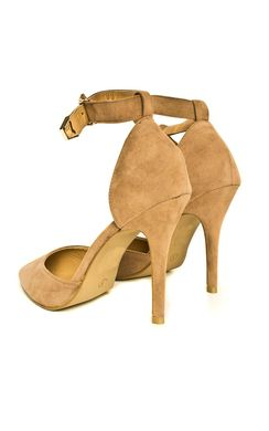 View the Nara Suede Effect Stiletto Heels online at iKrush