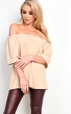 View the Camelia Off Shoulder Top online at iKrush