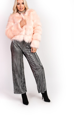 View the Kourtney Faux Fur Jacket online at iKrush