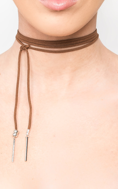 View the Ezmay Lace Thinline Necklace online at iKrush