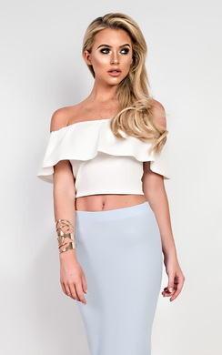 View the Jessi Off Shoulder Crop Top online at iKrush