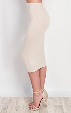 View the Halden Basic Midi Skirt online at iKrush