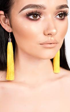 View the Rita Tassel Earrings  online at iKrush