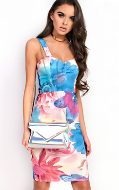View the Nina Floral Dress online at iKrush