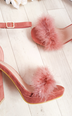 View the Alena Fluffy High Heels  online at iKrush