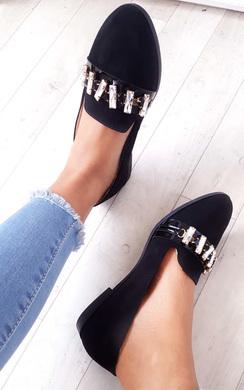 View the Sherla Embellished Flat Pump Shoe online at iKrush
