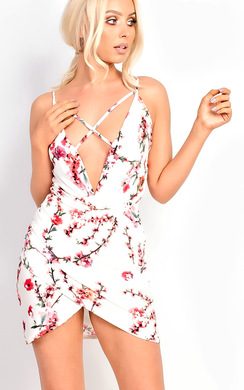 View the Sara Strappy Floral Dress online at iKrush