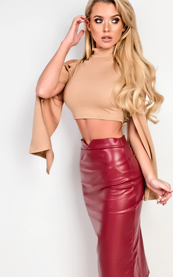View the Skyler Crop Top online at iKrush