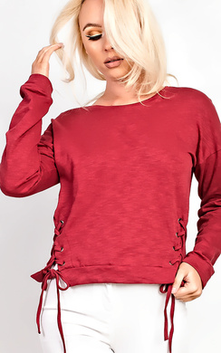 View the Shea Lace Side Jumper online at iKrush
