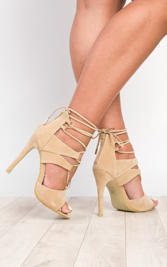 View the Kenza Strappy High Heels online at iKrush