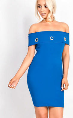 View the Balir Bardot Midi Dress online at iKrush