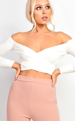 View the Kimmay Ruched Crop Top online at iKrush