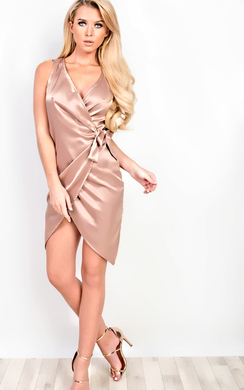 View the Angeline Asymmetric Dress online at iKrush