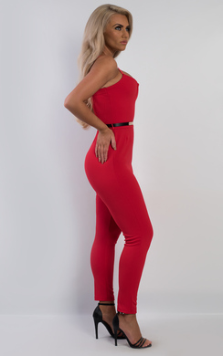 View the Meliora Belted Jumpsuit online at iKrush