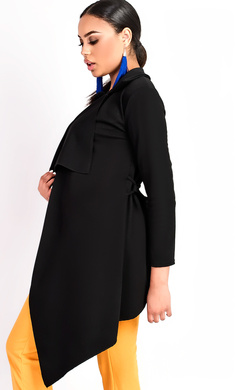 View the Kaila Waterfall Coat online at iKrush