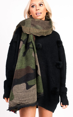 View the Carmen Camo Scarf online at iKrush
