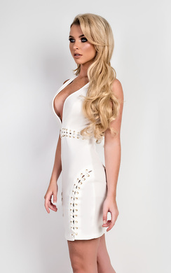 View the Fernanda Bodycon Dress online at iKrush