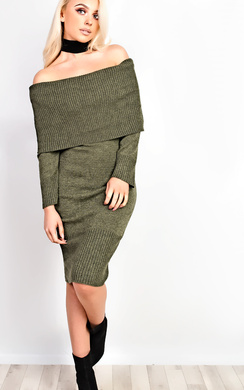 View the Rowan Off Shoulder Bodycon Dress online at iKrush