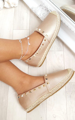 View the Mara Studded Espadrilles online at iKrush