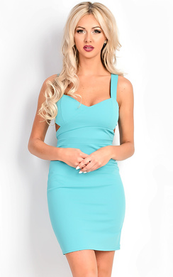 View the Karmel Cut Out Bodycon Dress online at iKrush