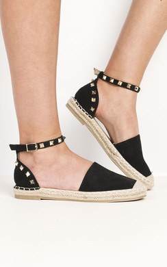 View the Carmen Studded Espadrilles online at iKrush