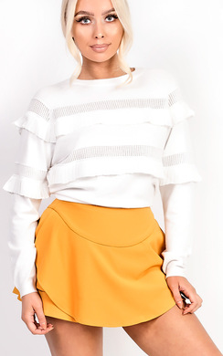 View the Merisa Frill Stretch Jumper online at iKrush