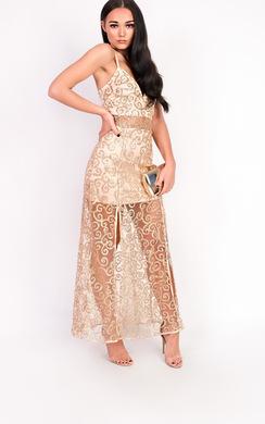 View the Kady Double Split Maxi Dress online at iKrush