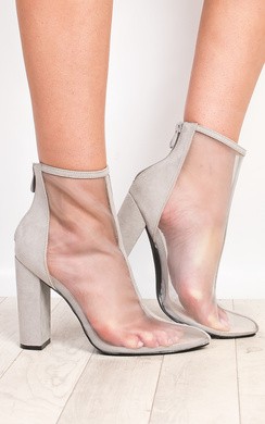 View the Mirabella Mesh Heeled Ankle Boots online at iKrush