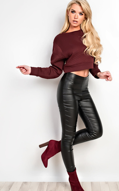 View the Carlie Cropped Jumper online at iKrush