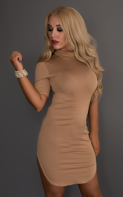 View the Carrie Turtle Neck Dress online at iKrush