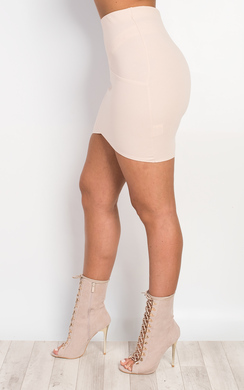 View the Farah Fitted Mini Skirt online at iKrush