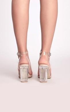 View the Emma Clear High Heels online at iKrush