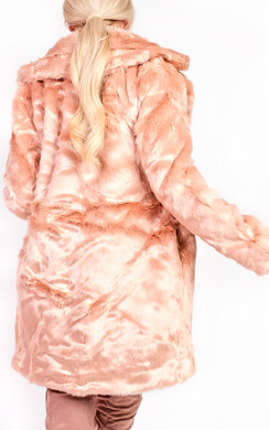 View the Sophia Faux Fur Jacket online at iKrush
