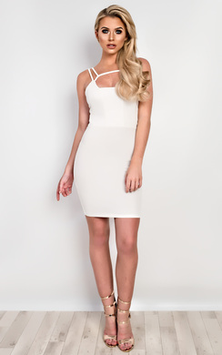 View the Arianne Strappy Bodycon Dress online at iKrush