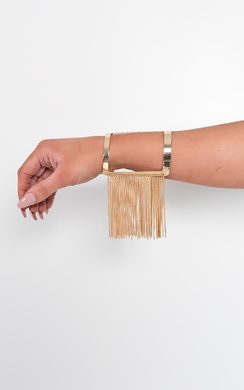 View the Ripley Chain Detail Arm Cuff online at iKrush