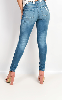 View the Jade Ripped Skinny Jeans online at iKrush
