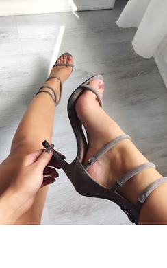 View the Dextra Strappy High Heels online at iKrush