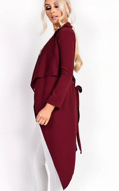 View the Aliza Waterfall Coat online at iKrush