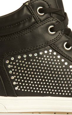 View the Josie Gem Hi-Top Trainers online at iKrush