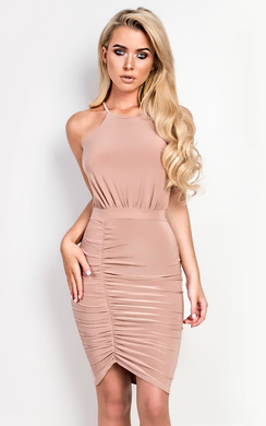 View the Kendall  Bodycon Wrap Dress online at iKrush