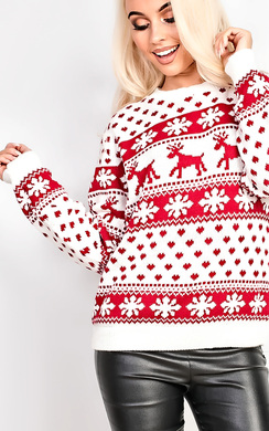 View the Dash Oversized Christmas Jumper online at iKrush