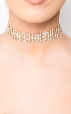 View the Kyla Diamante Choker online at iKrush
