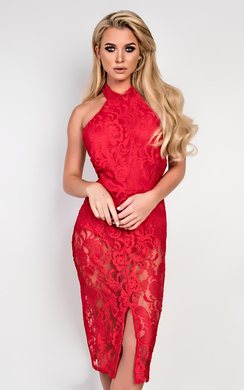 View the Harmony Lace Bodycon Dress online at iKrush